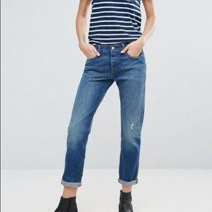 Levis 501 CT Denim Jeans blue